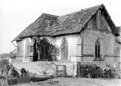 Eglise - Abside et transept nord, côté nord