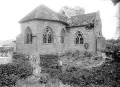 Eglise Saint-Pierre - Abside et transept nord, côté nord-est