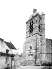 Eglise - Façade ouest et clocher