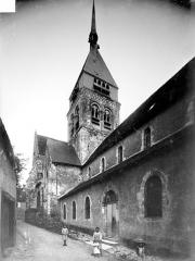 Eglise Saint-Georges - Façade nord en perspective