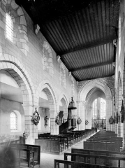 Eglise Saint-Georges - Vue intérieure de la nef vers le nord-est