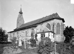 Eglise (ruines) - Ensemble sud-est