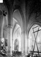 Eglise Sainte-Marguerite - Vue intérieure du choeur prise du bas-côté sud