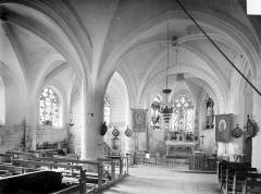 Eglise Saint-Ouen - Vue intérieure du choeur