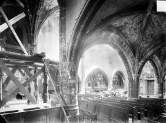 Eglise - Vue intérieure du transept nord