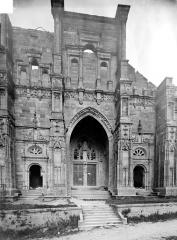 Eglise de Rembercourt - Façade ouest