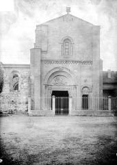 Abbaye de Charlieu - Eglise - Narthex : Façade nord
