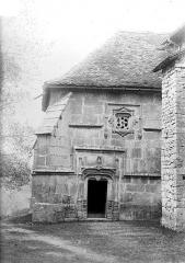 Eglise Saint-Sébastien - Portail de la face ouest du transept nord