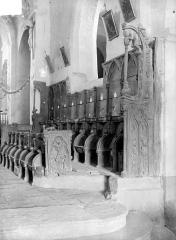 Eglise Saint-Jean-l'Evangéliste - Stalles du choeur, côté sud