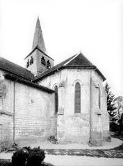 Eglise - Abside, côté sud-est
