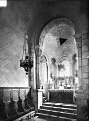 Eglise Saint-Georges - Vue intérieure du chœur, vers le nord-est