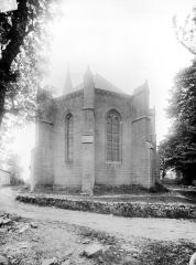Eglise Notre-Dame-de-la-Nativité - Abside, côté est