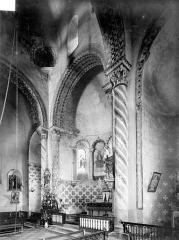 Eglise Saint-Symphorien - Vue intérieure du choeur, vers le nord-est