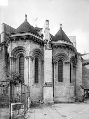 Eglise Saint-Léger - Abside, côté nord-est