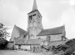 Eglise de Chateloy - Ensemble nord