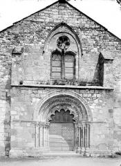 Eglise Saint-Prejet - Façade ouest