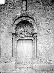 Eglise Sainte-Marie-Madeleine - Petit portail de la façade ouest