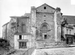 Eglise Sainte-Croix - Façade nord : partie est