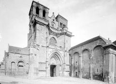 Prieuré bénédictin de Souvigny - Ensemble ouest