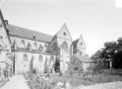 Prieuré bénédictin de Souvigny - Ensemble sud : partie est et cloître