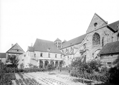 Prieuré bénédictin de Souvigny - Ensemble sud : partie ouest et cloître