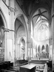 Prieuré bénédictin de Souvigny - Vue intérieure du chœur, vers le nord-est