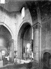 Eglise Saint-Martin - Vue intérieure du choeur, vers le nord-est