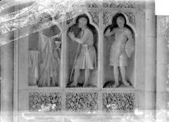 Cathédrale Notre-Dame - Revers du grand portail de la façade ouest, côté droit, premier registre