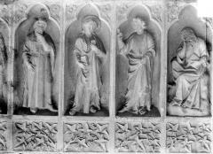Cathédrale Notre-Dame - Revers du grand portail de la façade ouest, côté droit, septième registre