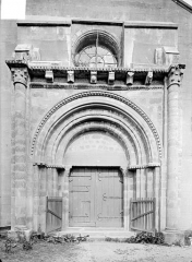 Eglise Sainte-Anne - Portail de la façade ouest