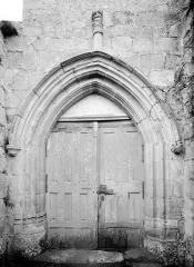 Eglise de Chateloy - Portail de la façade sud