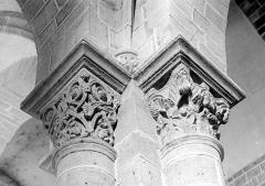 Eglise Saint-Gervais et Saint-Protais - Chapiteaux