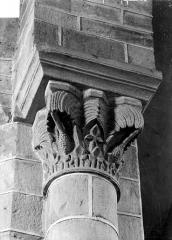 Prieuré bénédictin de Souvigny - Chapiteau