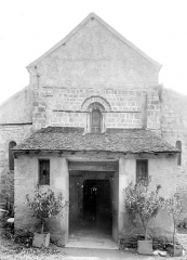 Eglise Saint-Maurice - Façade ouest