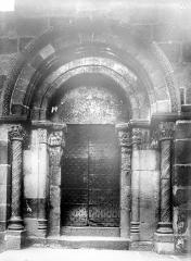 Eglise Saint-Maurice - Portail de la façade sud