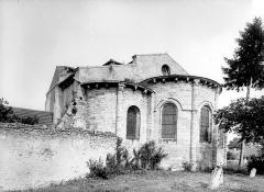 Eglise Saint-Cyr et Sainte-Julitte - Abside, côté sud-est
