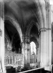 Prieuré bénédictin de Souvigny - Clôture de la chapelle vieille