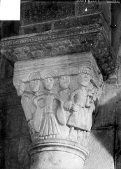 Eglise Saint-Maurice - Chapiteau historié