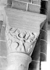 Eglise Sainte-Anne - Chapiteau historié