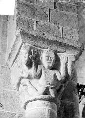 Eglise Notre-Dame - Chapiteau historié