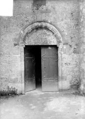 Eglise paroissiale Saint-Pierre - Portail de la façade nord