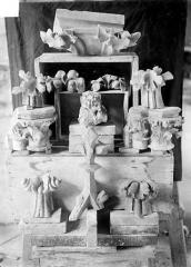 Cathédrale Notre-Dame - Débris
