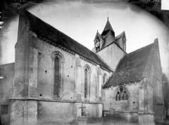 Eglise Saint-Germain - Façade nord