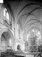Ancienne église Saint-Gerbold - Vue intérieure du choeur