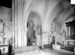 Restes de l'église - Vue intérieure du choeur
