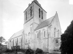 Eglise Saint-Hilaire£ - Ensemble sud-est