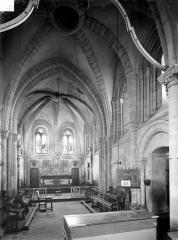 Eglise Saint-Hilaire£ - Vue intérieure du choeur