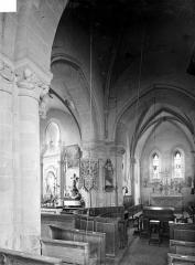 Eglise Saint-Pierre et Saint-Martin - Vue intérieure du choeur