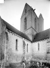 Eglise Saint-Pierre et Saint-Martin - Croisée du transept et clocher