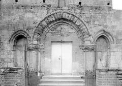 Eglise Saint-Germain - Portail de la façade ouest